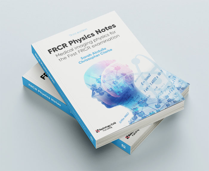 FRCR Physics Notes books