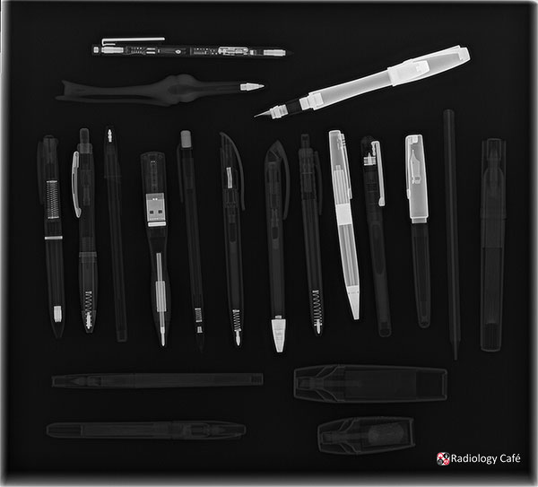 'Writing implements' by Christopher Clarke