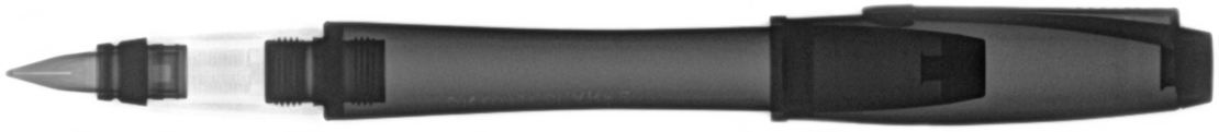 X-ray of a fountain pen for the Radiology Cafe Blog