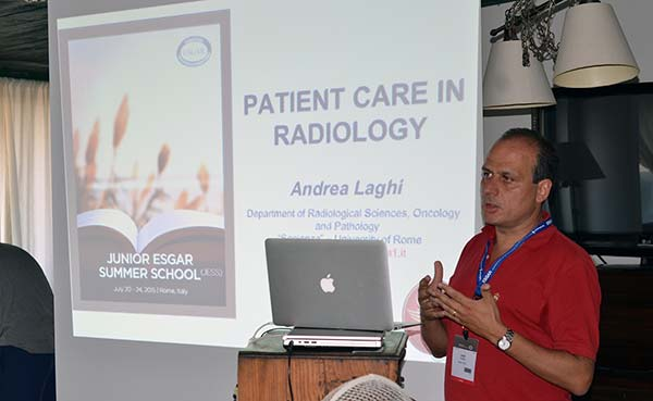 Presentation on Patient care in Radiology