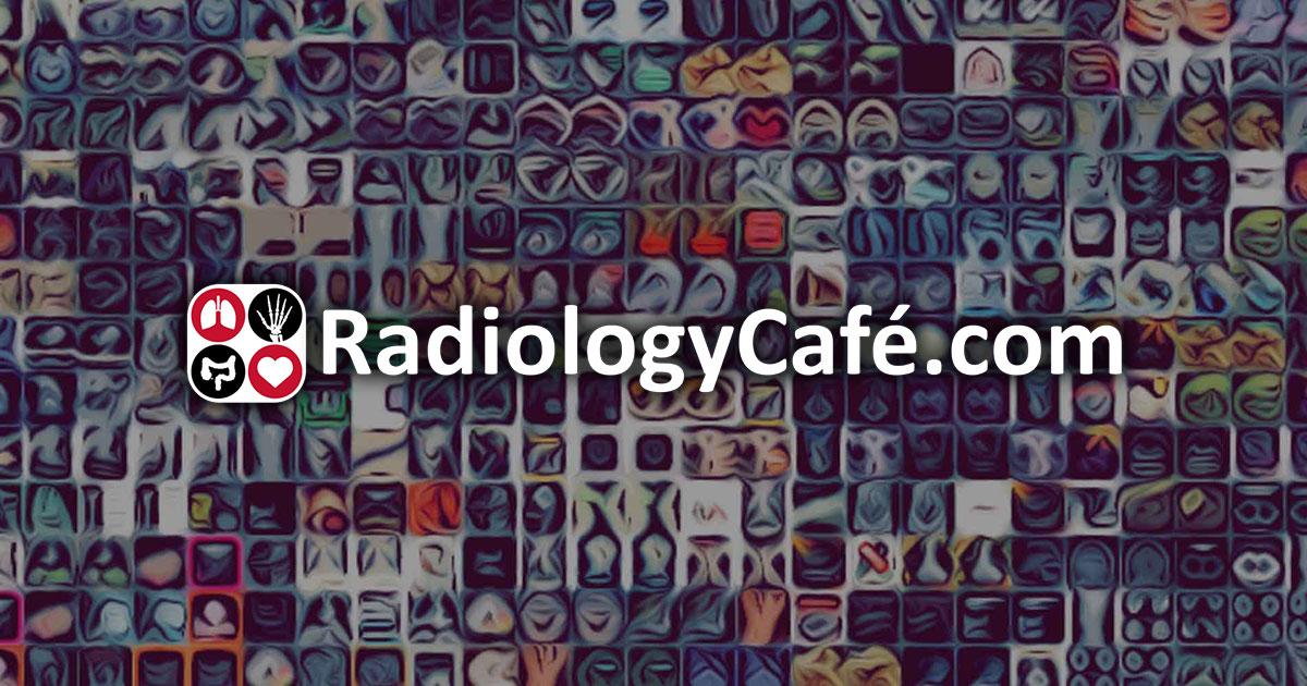radiology cafe